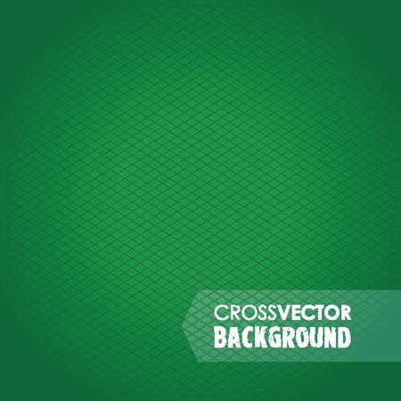 cross hatch: cross line green background Illustration