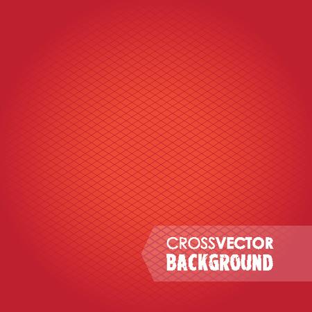 cross hatch: cross red background