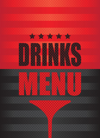 detain: drinks menu background