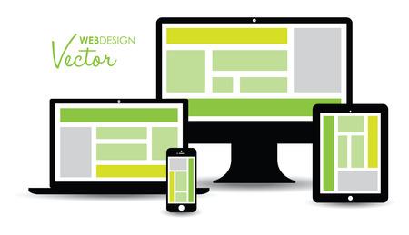 website technology group  Vector