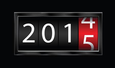 2015 new year Illustration