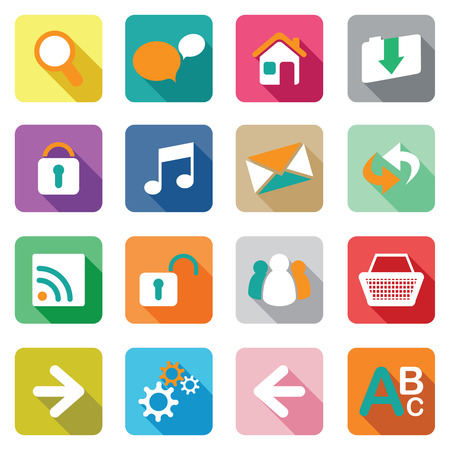 main group: web icon set