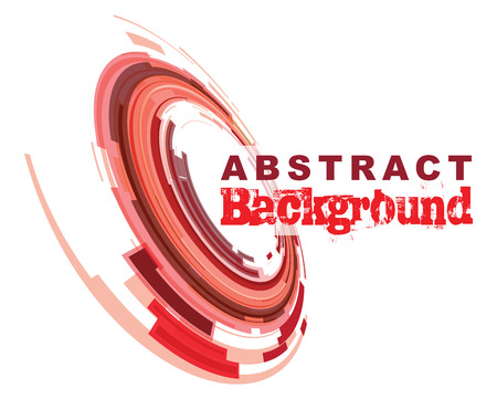 abstract aperture: red abstract background