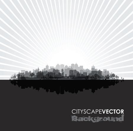 overprint: black cityscape overprint background