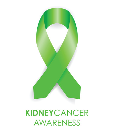 lyme: kidney cancer awareness ribbon