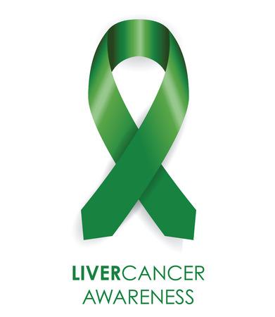 Ruban de cancer de sensibilisation du foie Banque d'images - 32548245