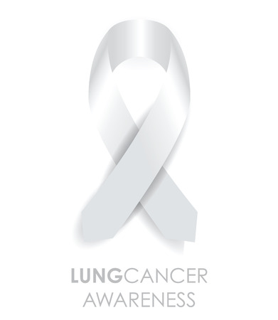 lung disease: lung cancer ribbon
