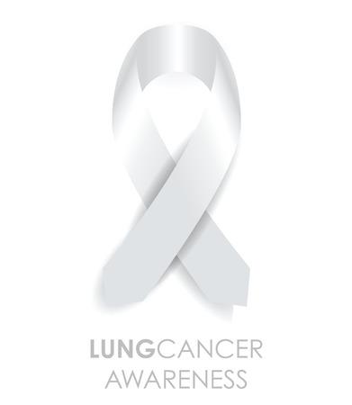Ruban de cancer du poumon Banque d'images - 32548247
