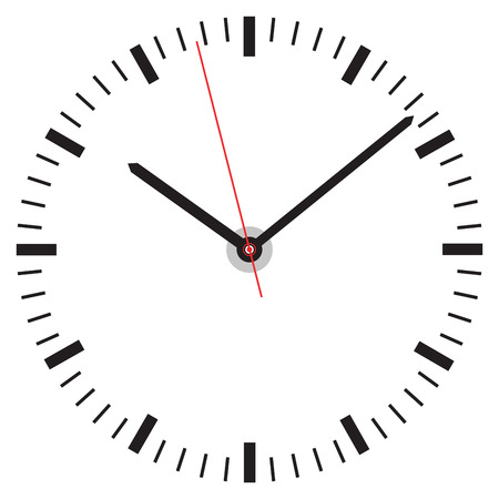 clock face Vettoriali