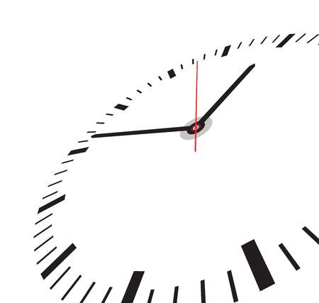tarczy zegara