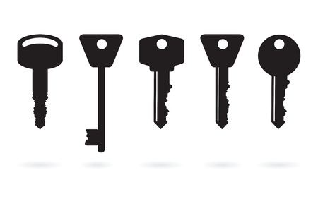 set of keys: bunch of keys