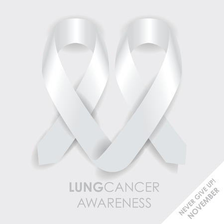 cancer de pulmon: cinta del c�ncer de pulm�n