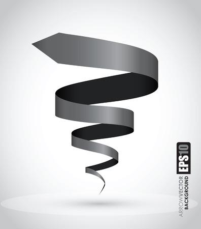 spiralling: black spiral background