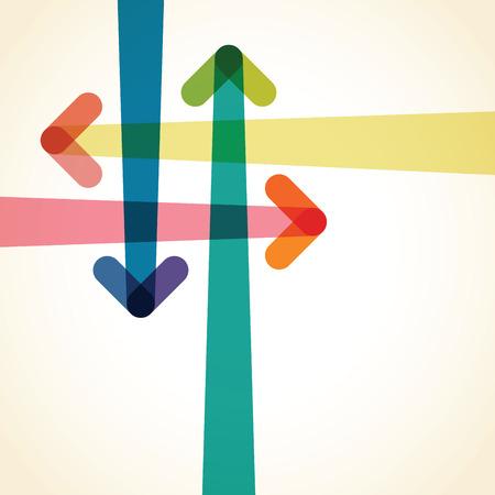 arrow background Stock Illustratie