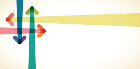 arrow background Illustration