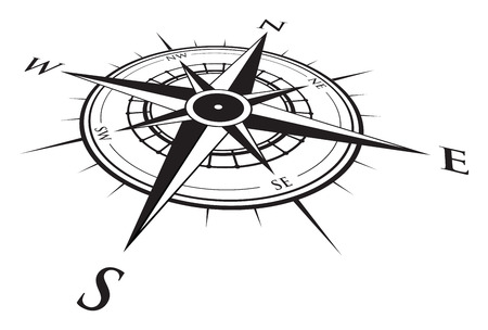 wind: compass background