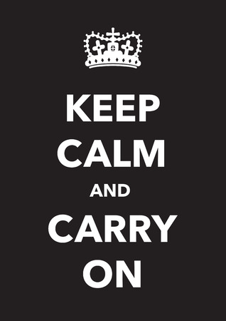 mantenere la calma manifesto