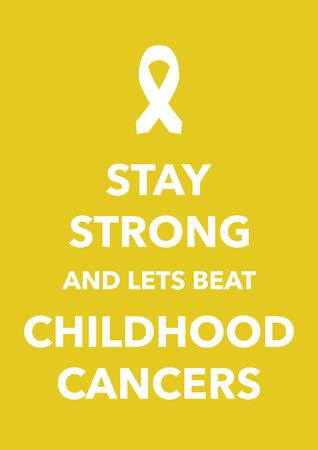 childhood cancer: childhood cancers poster