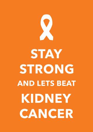 lyme: kidney cancer poster Illustration