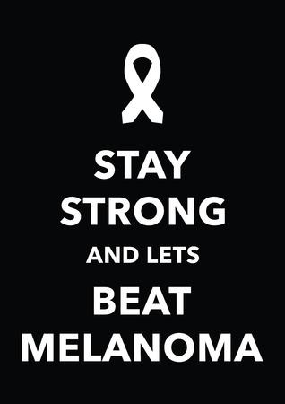 differ: melanoma poster