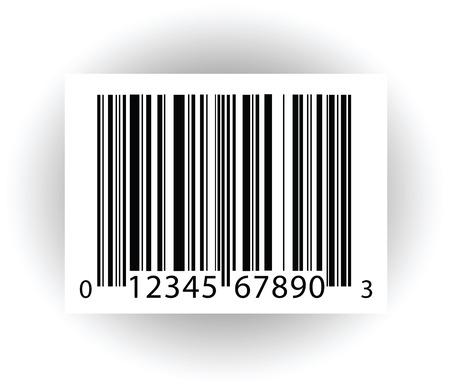 código de barras: c�digo de barras Vectores