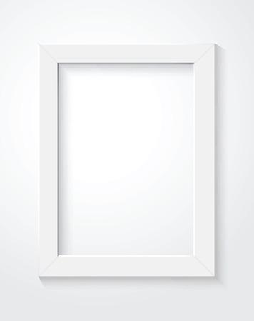 Cadre blanc Banque d'images - 36906784
