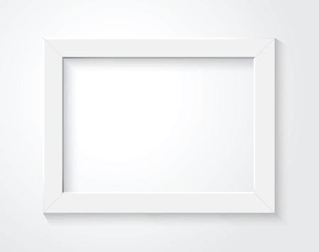 white frame Illustration