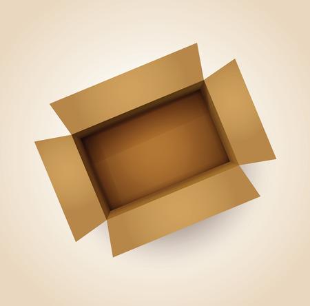 tare: card board box