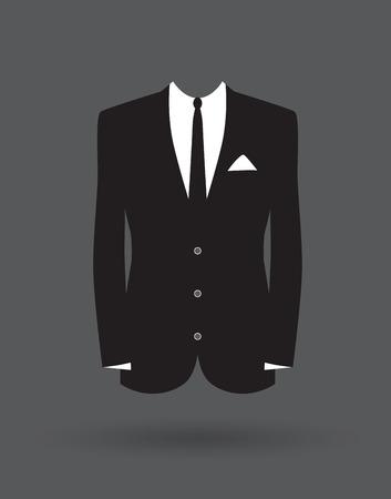 stallieri vestito giacca Vettoriali