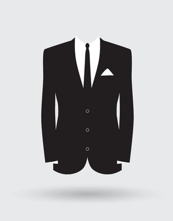 bata blanca: novios traje de chaqueta de traje