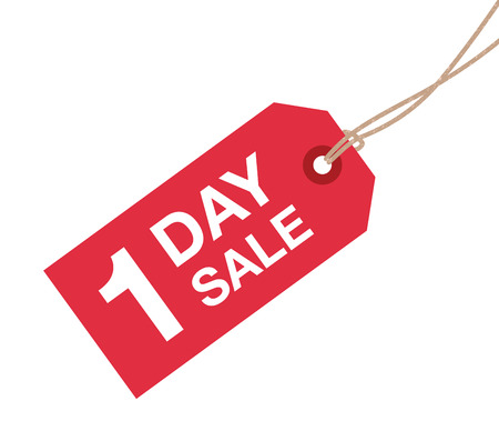 the day off: one day sale sign