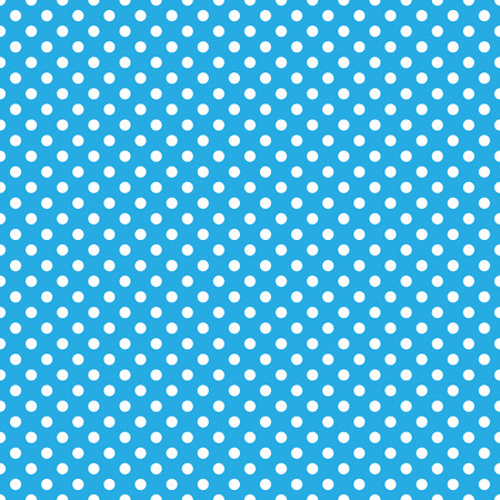 seamless blue polka dot background Ilustrace