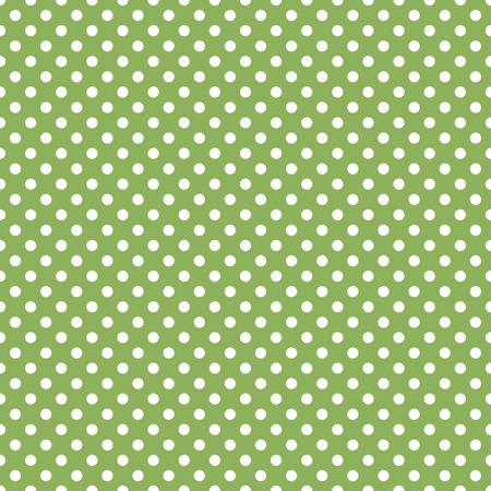 Nahtlose grüne Tupfenhintergrund Standard-Bild - 37702626