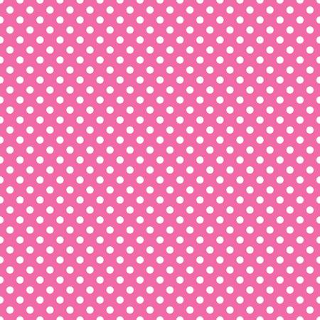 transparente rose de point de polka