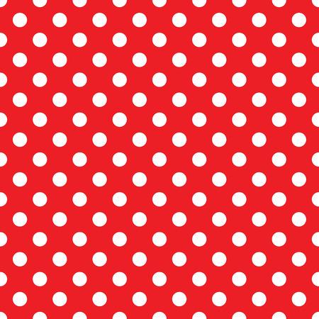 seamless red polka dot background Zdjęcie Seryjne - 37702633