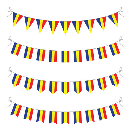 romanian: romanian bunting Illustration