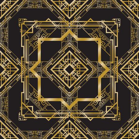 art deco abstract background Illusztráció
