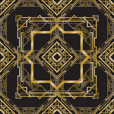 art deco abstract background Illustration