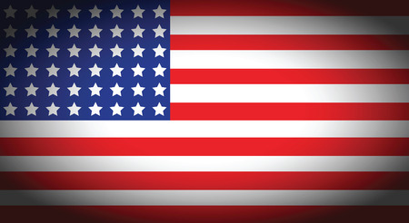antiqued: an american flag background with faded corners