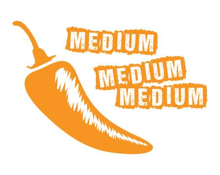 medium chilli Vector
