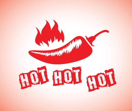 a red hot chilli Vector
