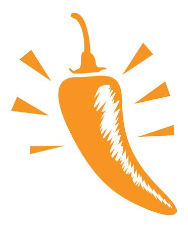jalapeno pepper: medium chilli