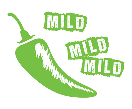 flavorful: mild chilli