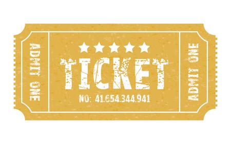 stub: an admit one stub ticket