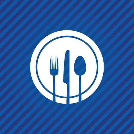 utensil: abstract food menu background