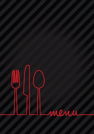 abstracte voedsel menu achtergrond Stockfoto