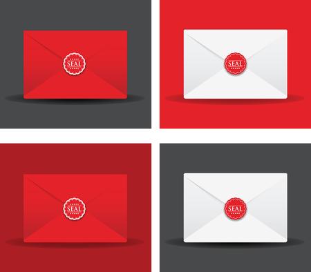 sealed: set of sealed envelopes