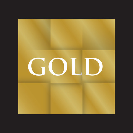 and gold: gold paper folded background