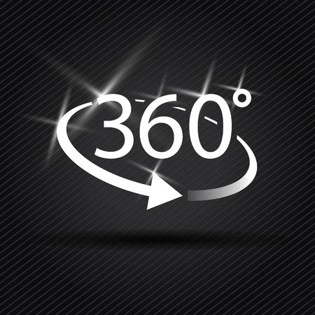 lensflare: three hundred and sixty degree abstract icon