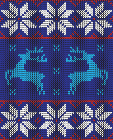 knit: christmas jumper pattern design